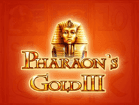 Игровой автомат Pharaohs Gold III без регистрации